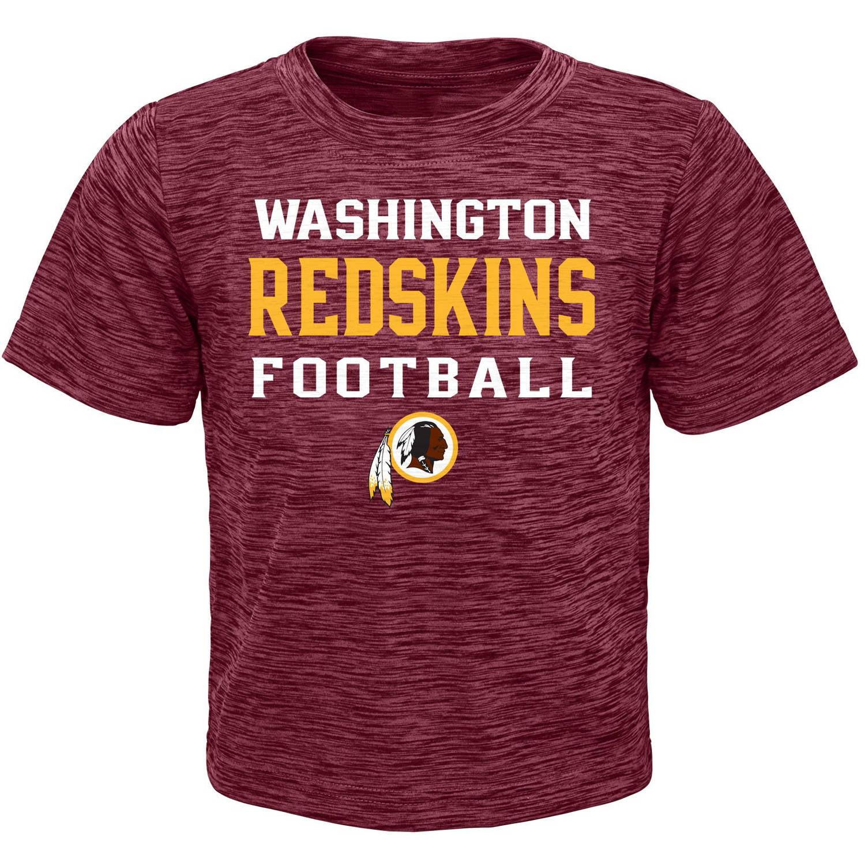 NFL Boys' Washington Redskins Short Sleeve Poly Team Tee