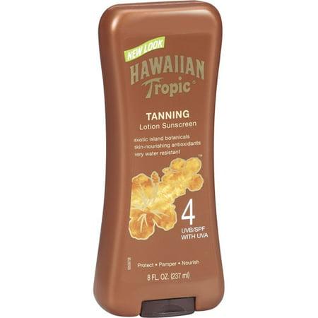Hawaiian Tropic Dark Tanning Lotion SPF 4 - 8 Ounces