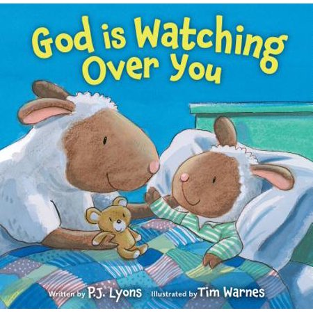 God Is Watching Over You (Board Book) (God Over Halloween)
