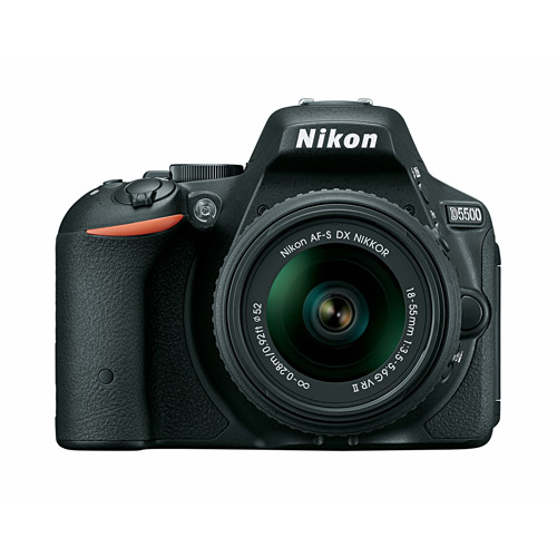 Nikon D5500 Digital SLR Camera with 24.2 Megapixels with 18-55mm VR II Lens Kit
