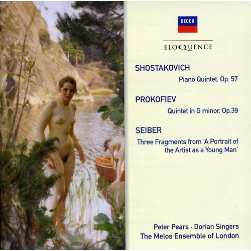 Shostakovich: Pno Qnt / Prokofiev: Qnt In G Minor
