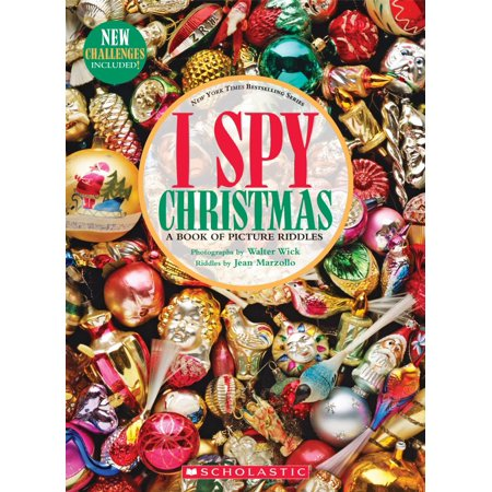 I Spy: I Spy Christmas: A Book of Picture Riddles (Hardcover) ()