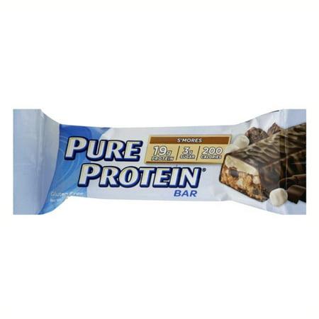Pure Protein S'mores sans gluten Bars 6 - 1,76 oz Bars