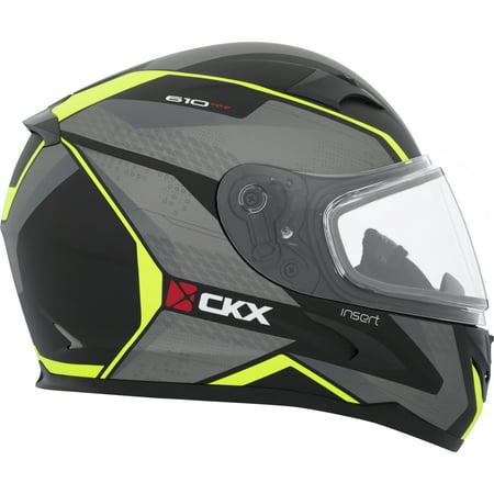 Double Helmet - CKX Insert RR610 Full-Face Helmet, Winter Double Shield