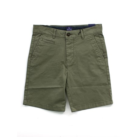 Toddler Boy's Twill Shorts with Rolled Cuff Belted Cuffed Shorts