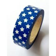 Love My Tapes Washi Tape 15mmX10m-Blue W/White Stars