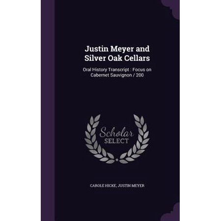 Napa Cellars Cabernet Sauvignon (Justin Meyer and Silver Oak Cellars : Oral History Transcript: Focus on Cabernet Sauvignon / 200)