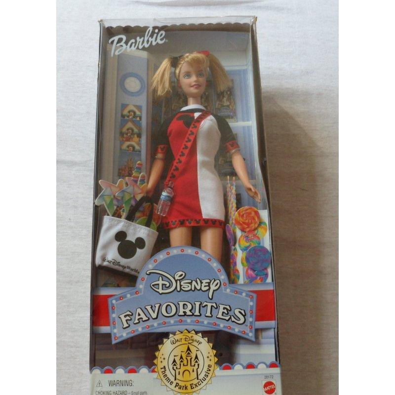 Mattel Collectible Disney Theme Park Exclusive Barbie 2000