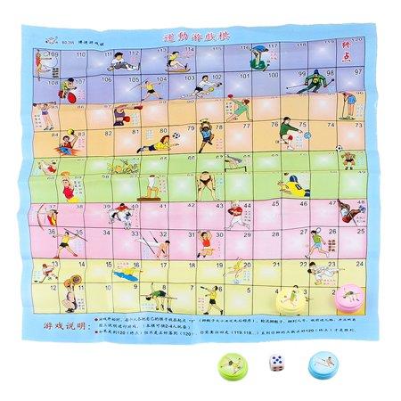 Brain Training Plastic Chessman Sports Game Chess Play Toy Gift Set