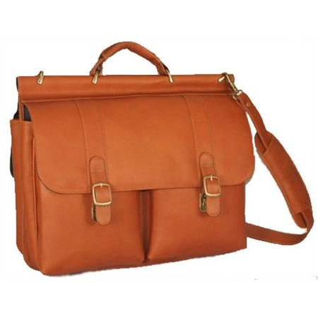 Dowel Laptop Briefcase - Dowel Laptop Briefcase, Tan, One Size
