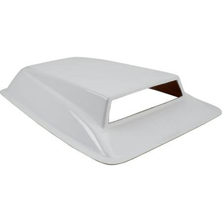 Pro Stock Drag Car Fiberglass Intake Air Hood Scoop, 32 x 22 x 6