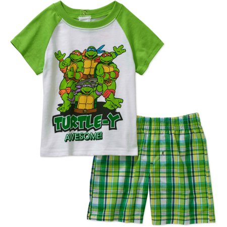 Teenage Mutant Ninja Turtles Outfit (Tmnt Ap Nbb Turtle Short Set)