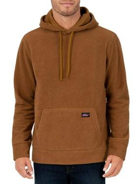 Genuine Dickies Men's Sherpa Pullover Hoodie with Jersey Lined Hood