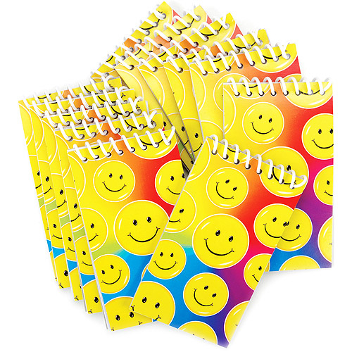 Party Favors - 12-Pack, Smile Note Pads