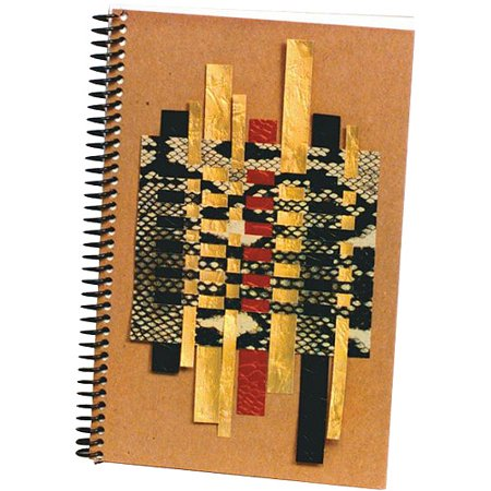 Sax Spiral Bound Sketchbook and Journal Making Kit, 6