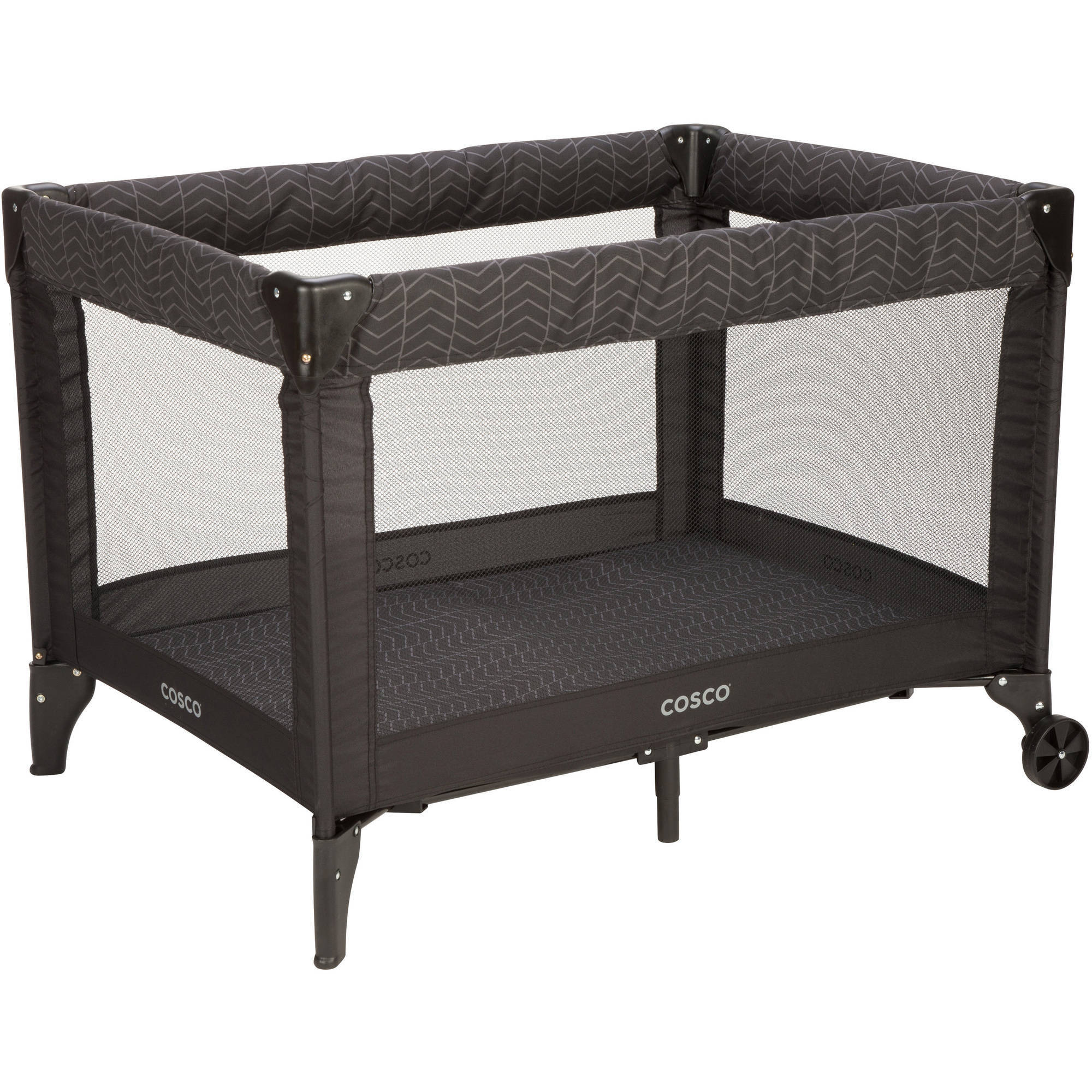 Cosco Deluxe Funsport Play Yard, Black Arrow