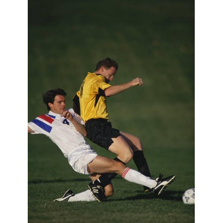 Soccer Players in Action Print Wall Art](Soccer Player Photo)