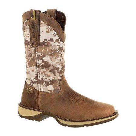 Men's Durango Boot DDB0166 Rebel Desert Camo Western Cowboy Boot