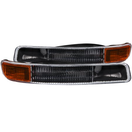 Anzo 511005 Parking/ Turn Signal Light Assembly  Clear Lens/ Black Housing With Amber Reflector; Set Of 2 - image 2 of 2