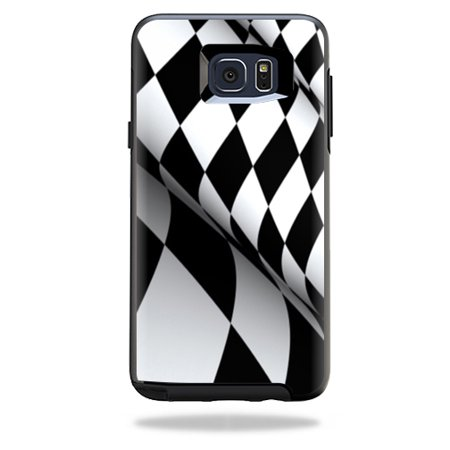 MightySkins Protective Vinyl Skin Decal for OtterBox Symmetry Samsung Galaxy Note 5 wrap cover sticker skins Checkered Flag