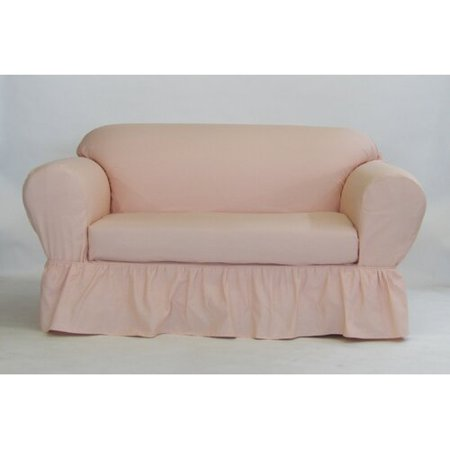 Marvelous August Grove Box Cushion Loveseat Slipcover Onthecornerstone Fun Painted Chair Ideas Images Onthecornerstoneorg