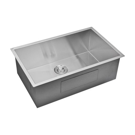 Water Creation SS-US-3219A Single Basin Undermount Kitchen Sink (Antique Water Basin)