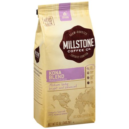 Millstone Kona Coffee Blend Ground Coffee, 12.0 OZ