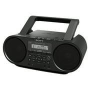Best Boomboxes - Sony ZS-RS60BT CD Boombox with Bluetooth Personal Audio Review