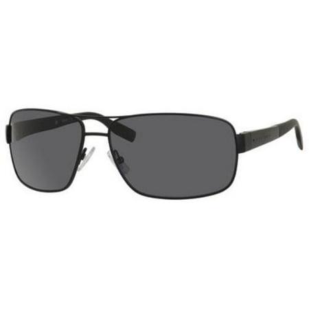 HUGO BOSS Sunglasses 0521/S 0003 Matte Black (Hugo Boss Sunglasses Sale)