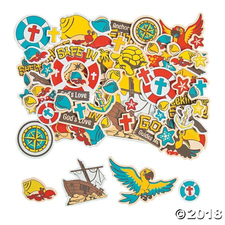 Western Vbs (Island VBS Self-Adhesive Shapes(pack of)