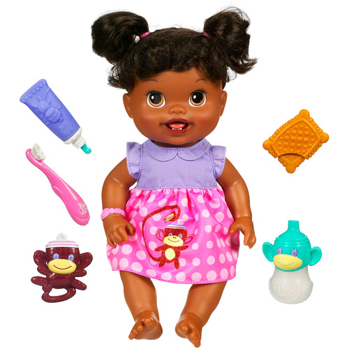 Baby Alive Baby's New Teeth Doll, African-American
