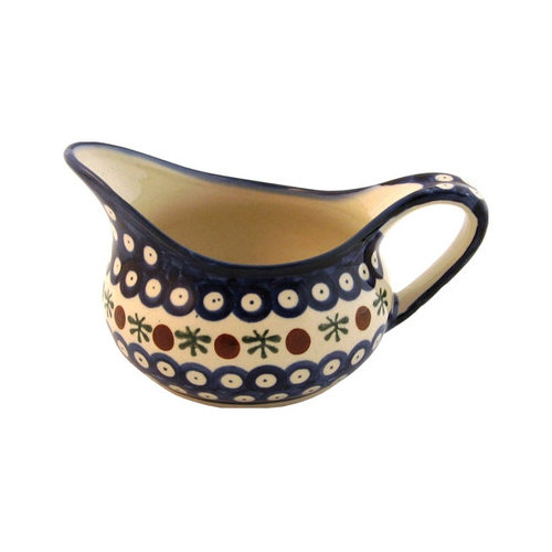 Euroquest Imports Polish Pottery 14 oz. Sauce Boat