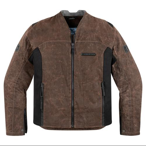 Icon 1000 Oildale Mens Jacket Brown