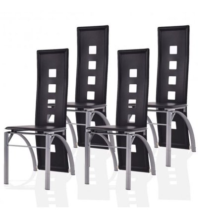 Set of 4 High-Back Dining Chairs