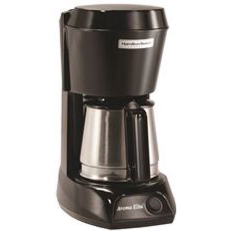 Hamilton Beach 4-Cup Hotel & Hospitality Coffeemaker, Stainless Steel Carafe