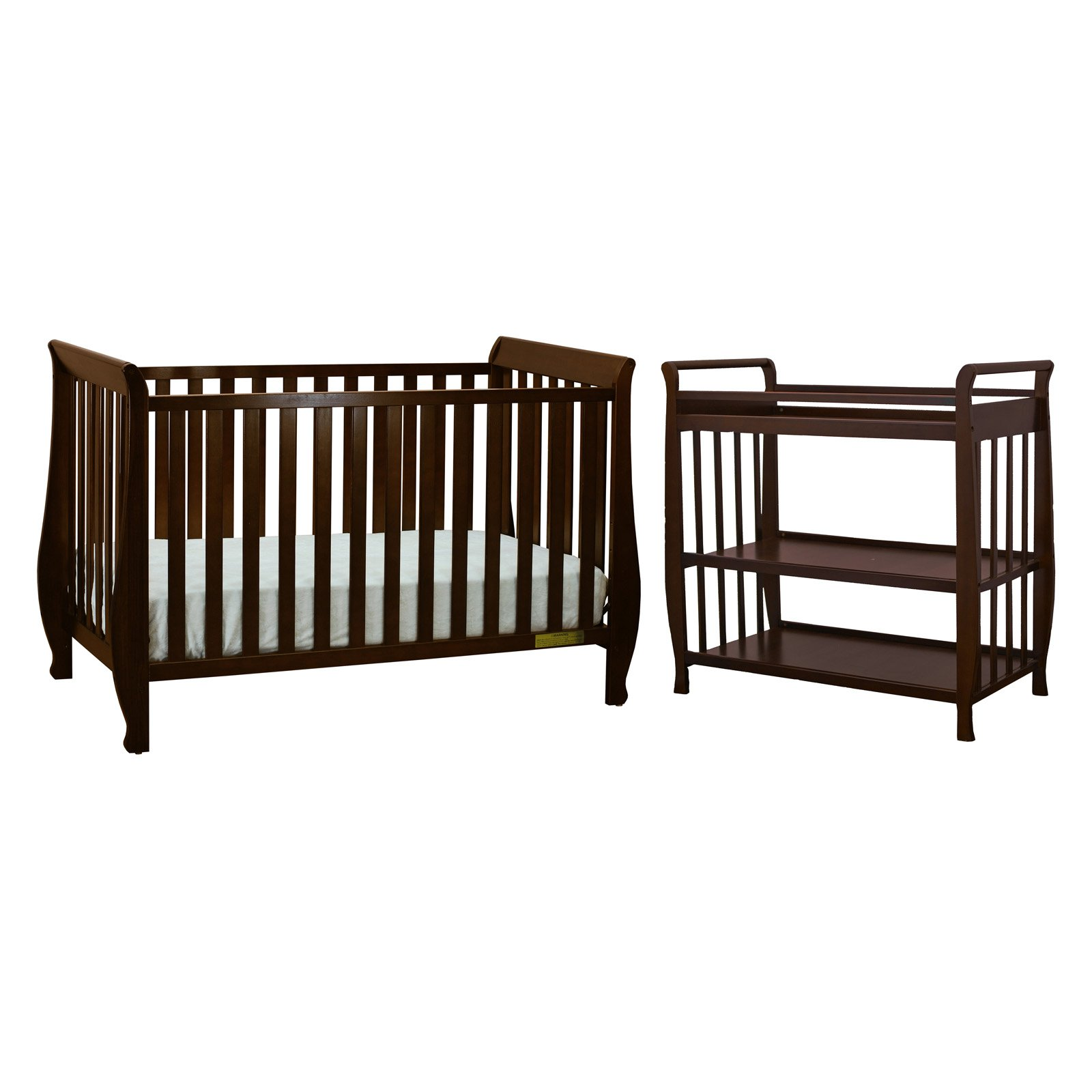 Athena Naomi 4-in-1 Crib with Summer Changing Table