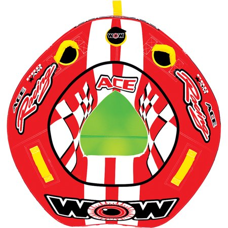 WOW World of Watersports, 15-1120, Ace Racing Towable, Ski Tube, 1