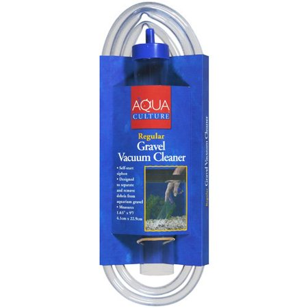 Aqua culture regular gravel vacuum cleaner 1pk for Walmart fish gravel