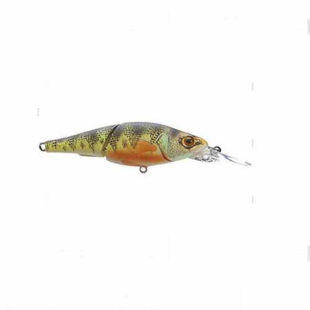 Livetarget Lures Koppers Live Target Yellow Perch Deep Dive Jointed Crankbait  2 7 8