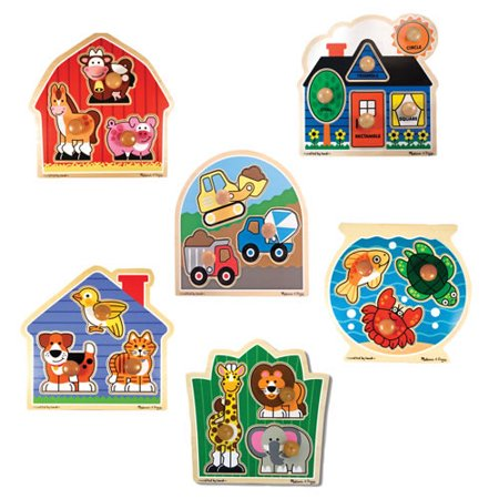 Jumbo Knob Puzzle Set