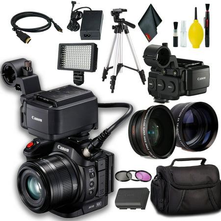 Canon XC15 4K Professional Camcorder w/ Tripod (Best Semi Professional Camcorder)