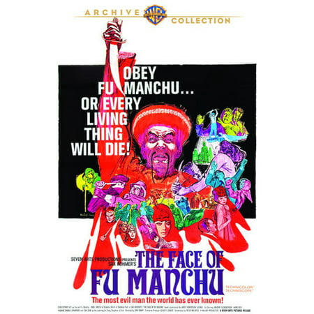 The Face Of Fu Manchu (DVD) - Fu Manchu Moustache