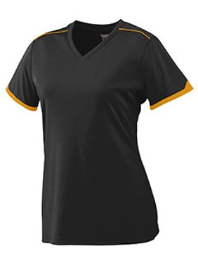1110ad5cc96a Product Image Augusta Girls Wicking Polyester Short Sleeve T-Shirt with  Contrast Piping 5046