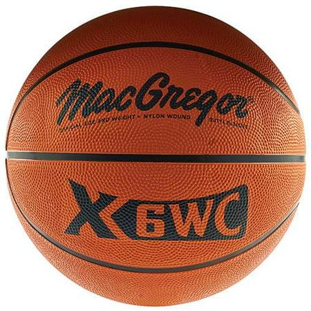 Macgregor  Official Size  29 5   Rubber Basketball