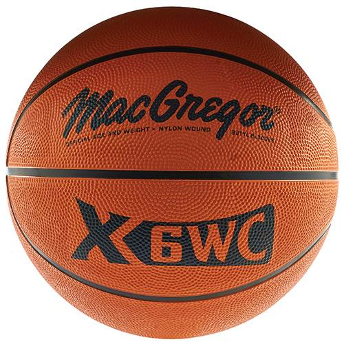 "MacGregor® Official Size (29.5"") Rubber Basketball"