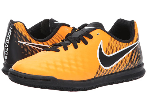 Nike White MAGISTAX OLA II IC Mens Black White Nike Orange Athletic Soccer Shoes 70b976