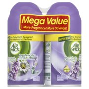 Air Wick Freshmatic Automatic Spray Air Freshener, Lavender and Chamomile Scent, Twin Refills, 6.17 Ounce