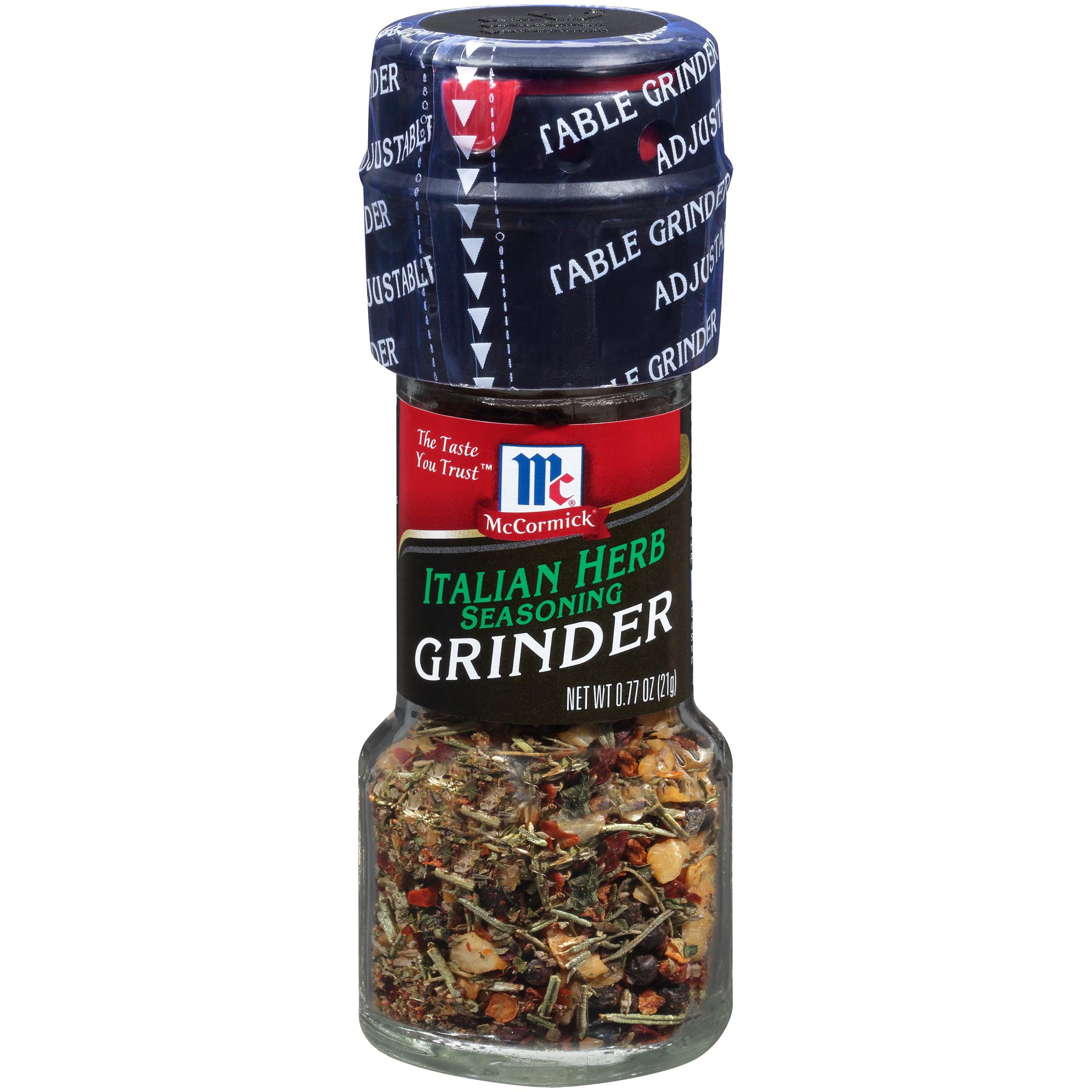 McCormick Italian Herb Seasoning Grinders, 0.77 oz