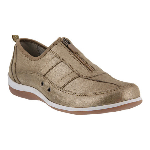 Women's Spring Step Montania Sneaker Navy Metallic Suede 39 M - image 7 de 7