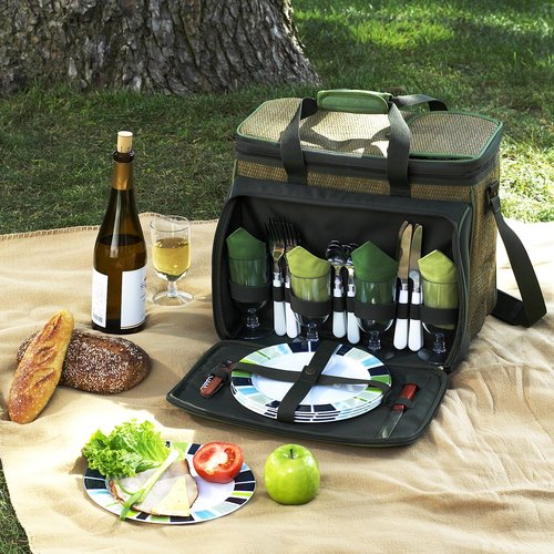 Picnic at Ascot Eco Picnic Cooler for 4 (230-FO)